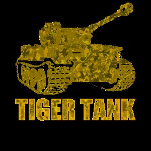 Deutscher Panzer Tiger Zweiter Weltkrieg