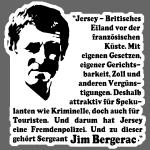 Gesicht Bergerac + Text