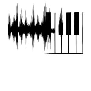 Piano Klavier Schallwelle