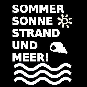 Sommer Sonne Strand und Meer!