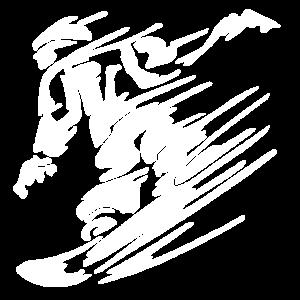 Snowboarder Logo