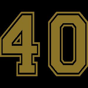 40 - Nummer
