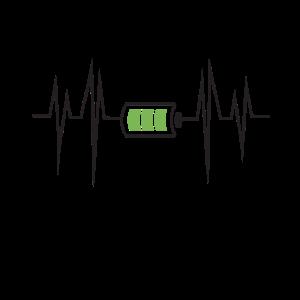 Energy Drink Heartbeat Herzschlag Koffein Geschenk