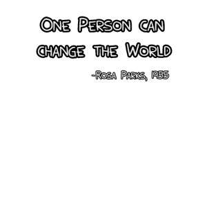 Rosa Bus Parks Zitat Anti Rassismus Nah Geschenk