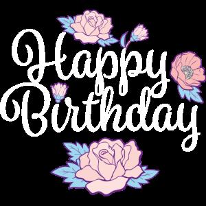13 Happy Birthday Blumen