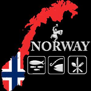 Angelreisen Norwegen Angeln Wikinger Fischen Idee