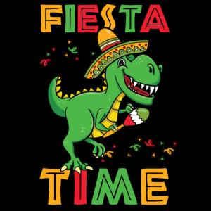 Fiesta Time T-Rex