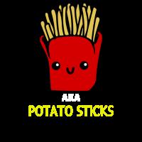 AKA Potato Sticks Cute Fries Pun