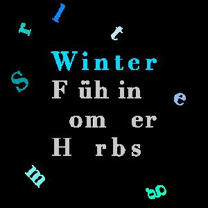 Winter –Jahreszeiten – Poster