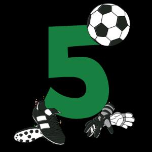 Geburtstag 5 Jahre Fussball, Fussballspieler