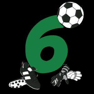 Geburtstag 6 Jahre Fussball, Fussballspieler