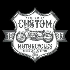 Custom Motorcycles Amerika Motorrad Retro Geschenk