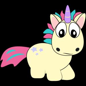 Einhorn, Unicorn, mad, lustig, cool, süßes Pony