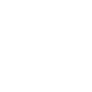 DINOSAURIER trex t rex in weiss mit kreis