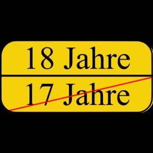 18 Geburtstag Volljaehrig
