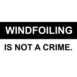 WINDFOILING NOT A CRIME