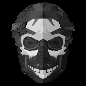 Gothic Totenschädel