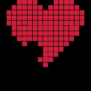Herz Pixel Spiel schießen Pixelherz Heart 2c
