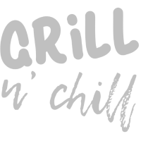 Grill and Chill, BBQ, silber