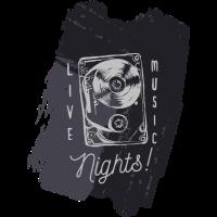live music nights - silber