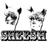 T-Shirt Sheesh Alpaka Lama