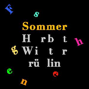 Sommer – Jahreszeiten – Poster