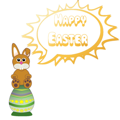 frohe ostern lustig nackt