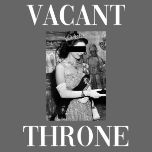 vacant throne white non h