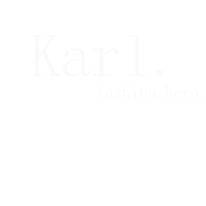 Karl. Fashion. Hero. white
