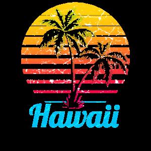 Hawaii USA Palmen Strand