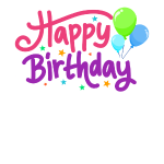 Happy Birthday Geburtstag Luftballons Glückwunsch