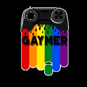 Gamer Gay Gaymer Zocker Zocken Geschenk