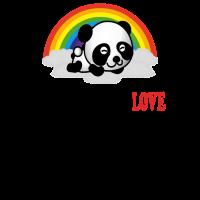 lll panda black