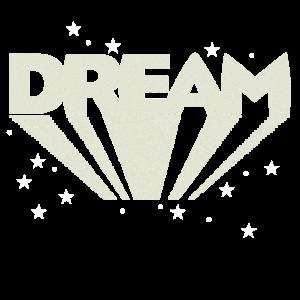 Dream Traum Träumen dream Sterne Shirt