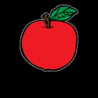 Einfacher Apfel