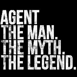 Agent Geschenkidee Agenten