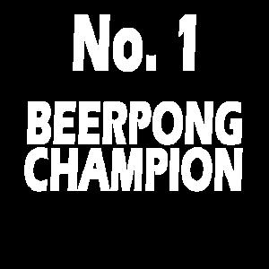No.1 Beerpong Champion