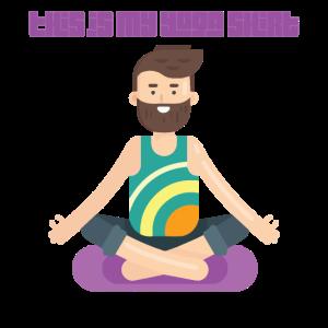 Yoga Shirt Retro Style