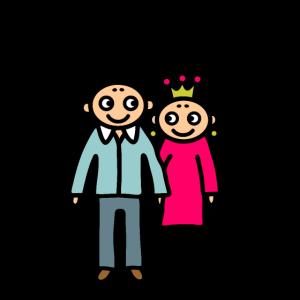 Ehepaar 50 Jahre verheiratet - Goldene Hochzeit