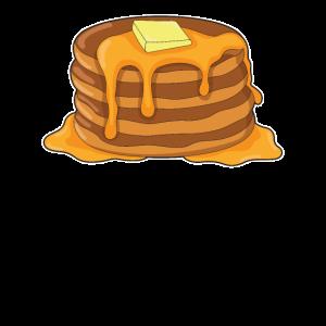 Ich liebe Pfannkuchen zum Frühstück comic