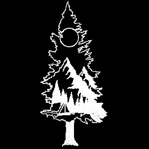 Baum Landschaft Natur Berge Camping