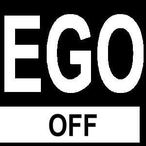 EGO Off Egoisten Egoist Geschenk Design Spruch