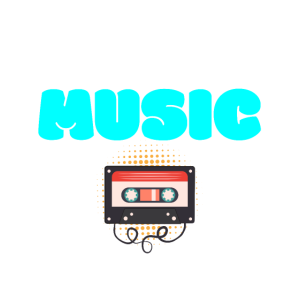stylisches musik shirt retro casette music disco