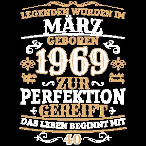 Legenden März 1969