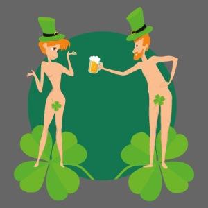 Adam et Eve fêtent la Saint Patrick