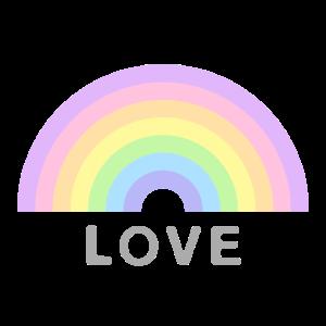 Love Rainbow Geschenkidee