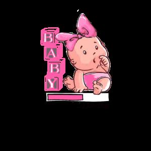 Baby Girl is Loading - Baby shower Geschenk