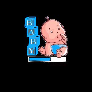 Baby Boy Loading - Babyparty Geschenkidee