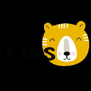 1. Geburtstag, erster, eins, Birthday, Bär, Tiger