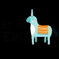 1. Geburtstag, eins, erster, Einhorn, Birthday